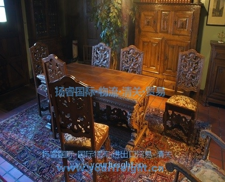 Import used furniture_International freight forwarder|customs clearance|Import and export agent|Beijing Yangrui International Freight Agency Co.,LTD
